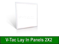 V-Tac Lay In Panels 2X2