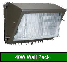 40W Wall Pack