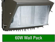 60W Wall Pack
