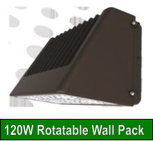 120W Rotatable Wall Pack